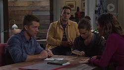 Mark Brennan, Aaron Brennan, Tyler Brennan, Elly Conway in Neighbours Episode 7669