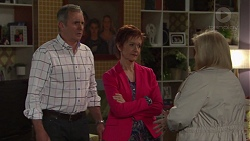 Karl Kennedy, Susan Kennedy, Sheila Canning in Neighbours Episode 7669