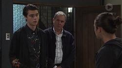 Ben Kirk, Karl Kennedy, Tyler Brennan in Neighbours Episode 7669