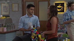 David Tanaka, Paige Novak in Neighbours Episode 7670