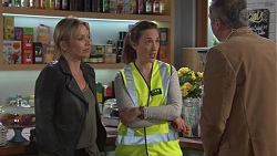 Steph Scully, Sonya Mitchell, Karl Kennedy in Neighbours Episode 7670