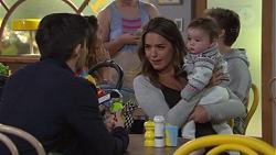 David Tanaka, Paige Novak, Gabriel Smith in Neighbours Episode 7670