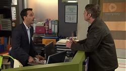 Nick Petrides, Gary Canning in Neighbours Episode 7671