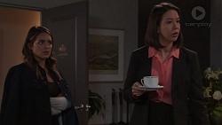 Paige Novak, Jasmine Udagawa in Neighbours Episode 7671
