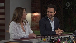 Amy Williams, Nick Petrides in Neighbours Episode 7671