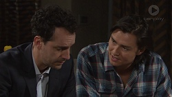 Nick Petrides, Leo Tanaka in Neighbours Episode 7672