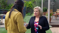 Dipi Rebecchi, Sheila Canning in Neighbours Episode 7673