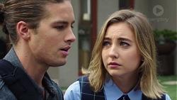 Tyler Brennan, Piper Willis in Neighbours Episode 7673