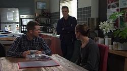 Mark Brennan, Aaron Brennan, Tyler Brennan in Neighbours Episode 7674