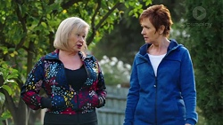 Sheila Canning, Susan Kennedy in Neighbours Episode 7674