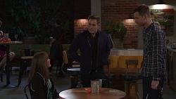 Fay Brennan, Aaron Brennan, Mark Brennan in Neighbours Episode 7674