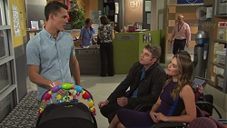 Jack Callaghan, Gary Canning, Paige Novak in Neighbours Episode 7675