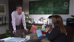Paul Robinson, Terese Willis in Neighbours Episode 7675