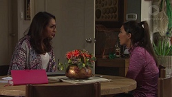 Dipi Rebecchi, Mishti Sharma in Neighbours Episode 7675