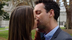 Amy Williams, Nick Petrides in Neighbours Episode 7675