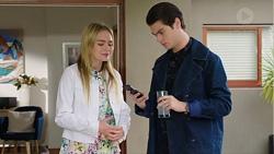 Xanthe Canning, Ben Kirk in Neighbours Episode 7677
