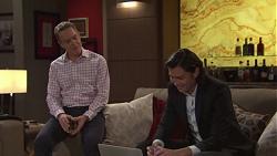 Paul Robinson, Leo Tanaka in Neighbours Episode 7677