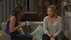 Paige Novak, Steph Scully in Neighbours Episode 7677