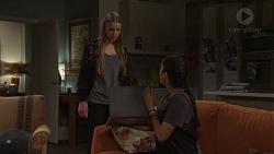 Freya Stone, Yashvi Rebecchi in Neighbours Episode 7677