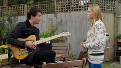 Ben Kirk, Xanthe Canning in Neighbours Episode 7678
