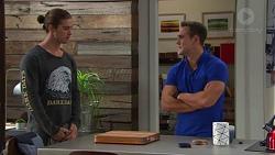 Tyler Brennan, Aaron Brennan in Neighbours Episode 7678