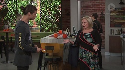 Tyler Brennan, Sheila Canning in Neighbours Episode 7678