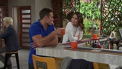 Aaron Brennan, Elly Conway in Neighbours Episode 7678
