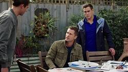 Tyler Brennan, Mark Brennan, Aaron Brennan in Neighbours Episode 7678