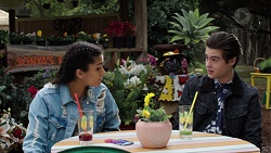 Yashvi Rebecchi, Ben Kirk in Neighbours Episode 7678