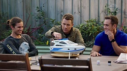 Tyler Brennan, Mark Brennan, Aaron Brennan in Neighbours Episode 7678