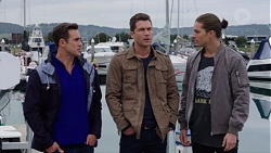 Aaron Brennan, Mark Brennan, Tyler Brennan in Neighbours Episode 7679