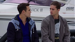 Aaron Brennan, Tyler Brennan in Neighbours Episode 7679