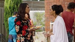 Dipi Rebecchi, Mishti Sharma in Neighbours Episode 7679