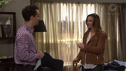 Nick Petrides, Amy Williams in Neighbours Episode 7680