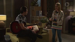 Ben Kirk, Xanthe Canning in Neighbours Episode 7680