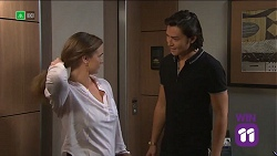 Amy Williams, Leo Tanaka in Neighbours Episode 7681