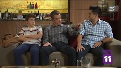 Jimmy Williams, Paul Robinson, David Tanaka in Neighbours Episode 7681