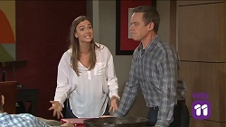 Amy Williams, Paul Robinson in Neighbours Episode 7681