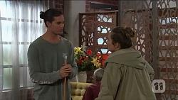 Tyler Brennan, Sonya Mitchell in Neighbours Episode 7681