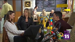 Amy Williams, Steph Scully, Jack Callaghan in Neighbours Episode 7681
