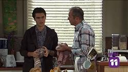 Ben Kirk, Karl Kennedy in Neighbours Episode 7681