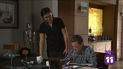 Leo Tanaka, Paul Robinson in Neighbours Episode 7681