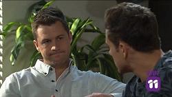 Mark Brennan, Aaron Brennan in Neighbours Episode 7681