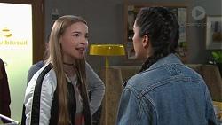 Freya Stone, Yashvi Rebecchi in Neighbours Episode 7682