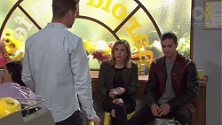 Mark Brennan, Piper Willis, Tyler Brennan in Neighbours Episode 7682