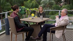 Tyler Brennan, Piper Willis, Hamish Roche in Neighbours Episode 7682