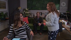 Paige Novak, Gary Canning, Terese Willis in Neighbours Episode 7683