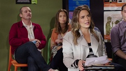 Toadie Rebecchi, Sonya Mitchell, Paige Novak in Neighbours Episode 7683