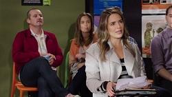 Toadie Rebecchi, Sonya Mitchell, Paige Novak in Neighbours Episode 7683