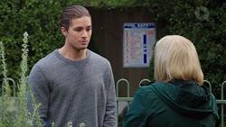 Tyler Brennan, Sheila Canning in Neighbours Episode 7683